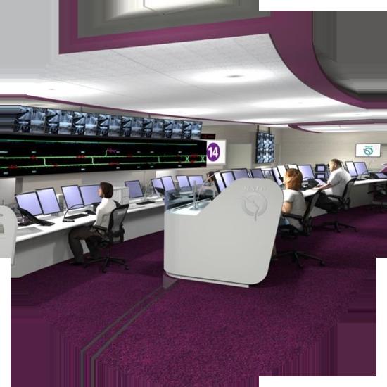 ergonomie salle de contrôle